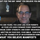 What you believe Manifests Reality